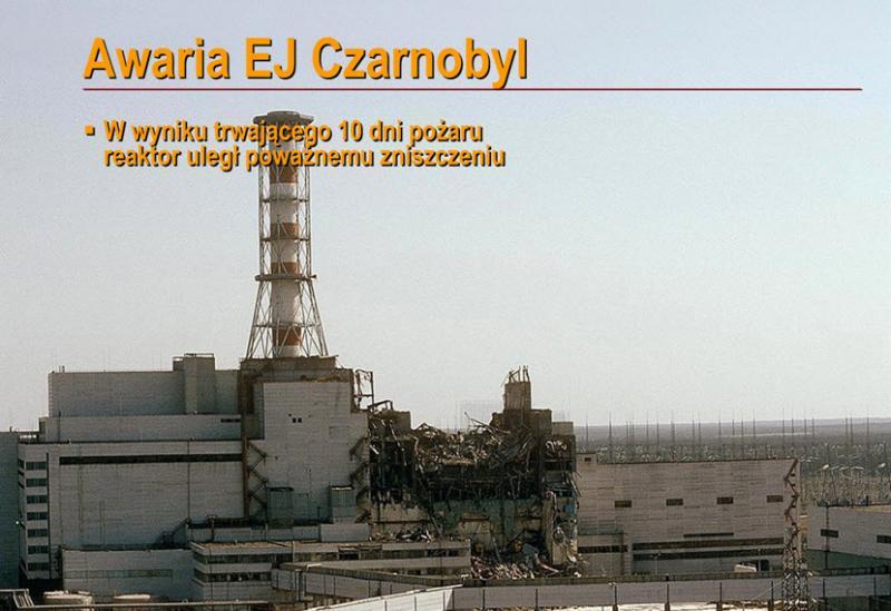 Awaria i po awarii w Czarnobylu