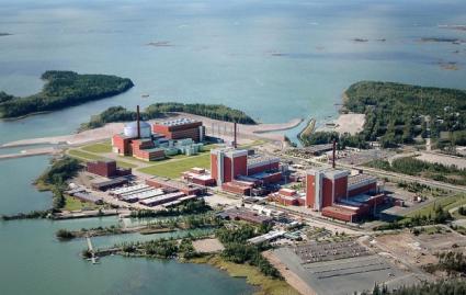 Tak będzie wyglądać fińska el. jądrowa Olkiluoto po wybudowaniu nowego reaktora EPR