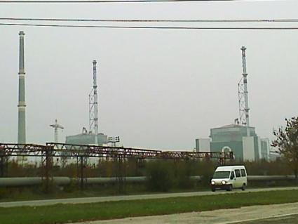 Dwa reaktory WWER 1000 pracujące w Kozłoduju