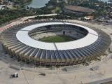 Dach brazylijskiego stadionu Novo mineirão aérea zamieniony w elektrownię
